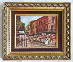 Southern Folk Art Painting New Orleans Antoines Black Women Royal St Calvert Art Paintings For Sale, Black Women Art, Handmade Art, Art Oil, Female Art, Folk Art, Southern, Country Charm, Antiques