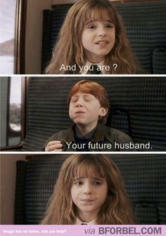 Hermione's Face Just Says It All…