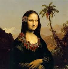 Image result for mona lisa photoshop