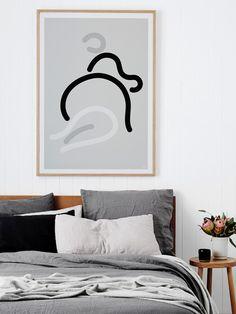 minimalist art prints by Caroline Walls