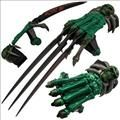 Z-Slayer Dagger Claw Three Blade Glove
