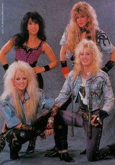 Bester Fashion Look: (notitle) Source by 80s Rock Fashion, Metal Fashion, Trendy Fashion, Fashion Outfits, Fashion Trends, Hair Metal Bands, 80s Hair Bands, Glam Metal, Hard Rock