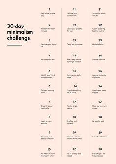 Coisas Fúteis | Estefanie Ribeiro: Desafio minimalista de 30 dias