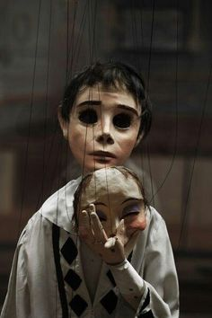 Cool creepy marionette