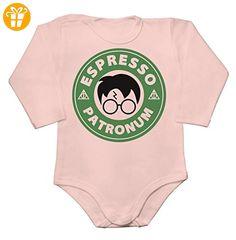 Espresso Patronum Green Circle Baby Long Sleeve Romper Bodysuit Extra Large - Baby bodys baby einteiler baby stampler (*Partner-Link)