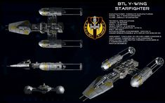 Y-wing ortho (Updated) by unusualsuspex