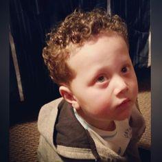 First hair cut, kid cut