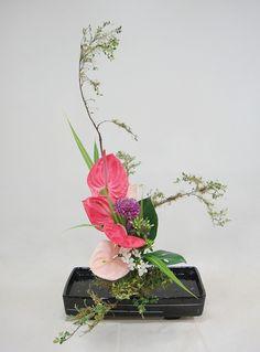 Ikebana for decoration mas