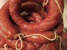 How to make Kielbasa - St Nick - Sausage Recipes Homemade Kielbasa Recipe, Smoked Kielbasa Recipe, Homemade Sausage Recipes, Polish Sausage Recipes, Kielbasa Sausage, Hot Dog Recipes, Kelbasa Recipes, How To Make Sausage, Sausage Making
