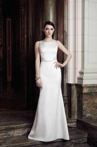 Mikaella  Available at Madeleine's Bridal Boutique. Old Town Clovis. 559.299.2619. www.madeleinesbridalboutique.com