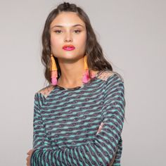 Now on eboutic. Green Spring Dresses, Red Indian, Indian Patterns, Pink Flowers, Purple, Sweaters, Jackets, Shirts, Color
