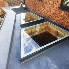 Flat Glass Shaped Irregular Rooflight