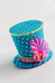 Fascinator - Neon Tiny Hat