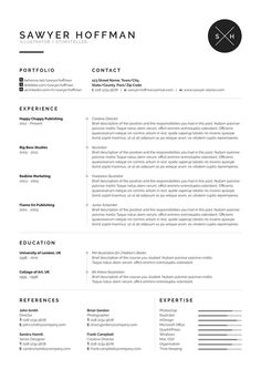 Resume Headings Maybe Spice Up The Headings Just A Tad  Cv Ennui  Pinterest