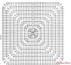 Best 12 Solid Granny Square Bottom Bag Crochet Tutorial pattern by Crochet Purse Patterns, Granny Square Crochet Pattern, Crochet Diagram, Crochet Chart, Crochet Motif, Crochet Designs, Crochet Stitches, Crochet Granny, Crochet Handbags
