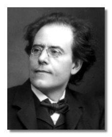 ...Gustav Mahler - mi música favorita; un poco oscura, un poco complicada