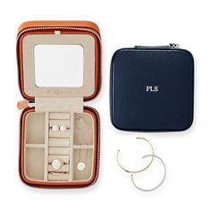 Shop travel jewelry case from Mark and Graham. Our expertly crafted collections offer a wide of range of personalized and monogrammed gifts, including a variety of travel jewelry case. Jewelry Case, I Love Jewelry, Body Jewelry, Jewelry Shop, Jewelry Stores, Jewelry Gifts, Silver Jewelry, Jewelry Stand, Cheap Jewelry