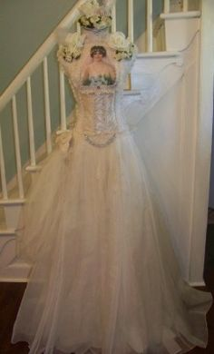 Wedding Dress Form from Romantic Rose Creations