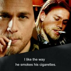 Jax Teller - I like the way he does most things