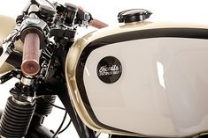 BMW R100 | BMW | BMW Motocycles | white | chrome | details | motorcycle | Bimmer | BMW bike | Schomp BMW