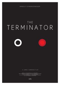 Minimalist Terminator poster One of several minimalist movie posters by Christopher Conner. via gamefreaksnz: Super Punch Classic Movie Posters, Minimal Movie Posters, Film Posters, Modern Posters, See Movie, Film Movie, Arnold Schwarzenegger, King Kong, Terminator Movies