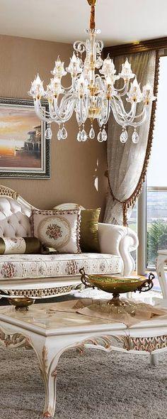 Luxury Furniture Thailand,เฟอร์นิเจอร์หรู,ห้องนอนหรู,โซฟาหรู,ห้องทานอาหารหรู,bedroom europe,sofa europe,dining room europe,เฟอร์นิเจอร์นำเข้าจากยุโรป,โซฟายุโรป Romantic Living Room, Living Room Sets, Luxury Sofa, Luxury Furniture, Interior Designing, Sofas, New Homes, Dining Room, Victorian