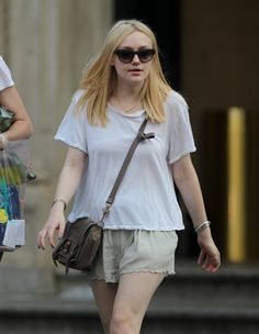 Dakota Fanning PS1 and Elizabeth and James Sunglasses
