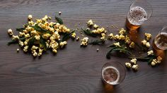 Green 'n' gold popcorn recipe : SBS Food