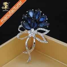 Azul oscuro ramillete de flores broche partido joyería fina, buena calidad precio barato en Broches de Joyería en AliExpress.com   Alibaba Group