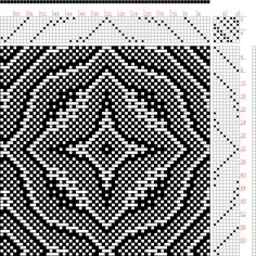 Hand Weaving Draft: Draft, , 8S, 8T - Handweaving.net Hand Weaving and Draft Archive
