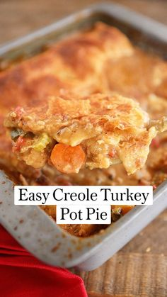 Slow Cooker Recipes, Cooking Recipes, Creole Recipes, Winter Food, Turkey Recipes, How To Cook Pasta, Quick Easy Meals, Soups And Stews, Food To Make