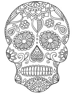 Skull Color Pages Skull Coloring Pages For Kids Safewaysheetco. Skull Color Pages Coloring Pages Bones Of The Skull Coloring Pages Picture. Blank Coloring Pages, Free Coloring Sheets, Printable Adult Coloring Pages, Coloring Pages For Girls, Coloring Books, Coloring For Adults, Fall Coloring, Colouring, Halloween Coloring Pages