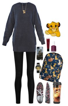 """Gail"" by anna-fozo ❤ liked on Polyvore featuring Donna Karan, Étoile Isabel Marant, Disney, Marta Bevacqua, Wet Seal, Disney Couture, philosophy and Essie"