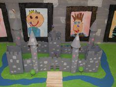 La maternelle de Francesca: Notre château fort!