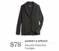 (Market & Spruce Marcello Cable Knit Cardigan). I love Stitch Fix! A personalized styling service and it's amazing!! Simply fill out a style profile with sizing and preferences. Then your very own stylist selects 5 pieces to send to you to try out at home. Keep what you love and return what you don't. Only a $20 fee which is also applied to anything you keep. Plus, if you keep all 5 pieces you get 25% off! Free shipping both ways. Schedule your first fix using the link below! #stitchfix…
