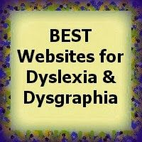 There are numerous websites that offer advice and support for students with Dyslexia or Dysgraphia. Some resources are better than others. This list of websites is valuable and approved by teachers and professionals.