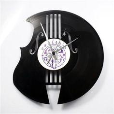 The Bass Maker Clock, Black