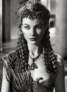 "Vivien Leigh in ""Caesar and Cleopatra,"" 1945."