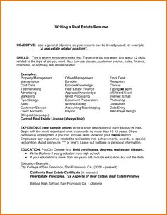 resume objective sample for any job