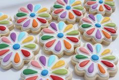 Girl Scout Daisy Badge Cookies