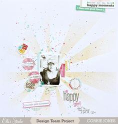 A Happy Girl :: Elle's Studio