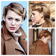 'The Age of Adaline' Hair! This movie is the definition of hair goals! 1940s Hairstyles, Work Hairstyles, Wedding Hairstyles, Wedding Updo, Vintage Hairstyles Tutorial, Retro Mode, Mode Vintage, Age Of Adaline, Tips Belleza