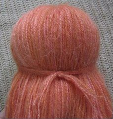 Tutorial to make Hair for an Amigurumi Doll ~ Amigurumi crochet patterns ~ K and J Dolls / K and J Publishing