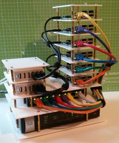 Raspberry Pi Cluster....want to build it if for no other reason that it just looks cool!
