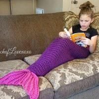 Quick and Easy Mermaid Blanket Tail