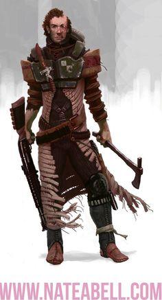 Feralman - Dark Heresy - Warhammer 40k - roleplay - dark fantasy sci-fi