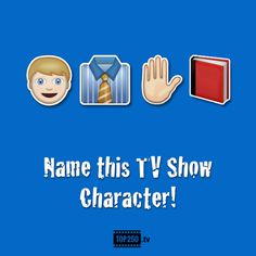 TOP 250 : Name this tv show character!