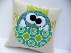 Manfred Tooth Pillow Pattern is available . . .