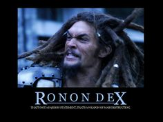 Ronon Dex!!!! My favorite character on Stargate Atlantis