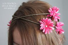 floral crown - flower circlet  bridal crown - fairy crown - daisy crown on Etsy, 20,00€